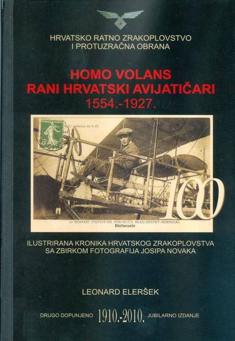 Naslovnica drugog izdanja Homo volansa Leonarda Eleršeka