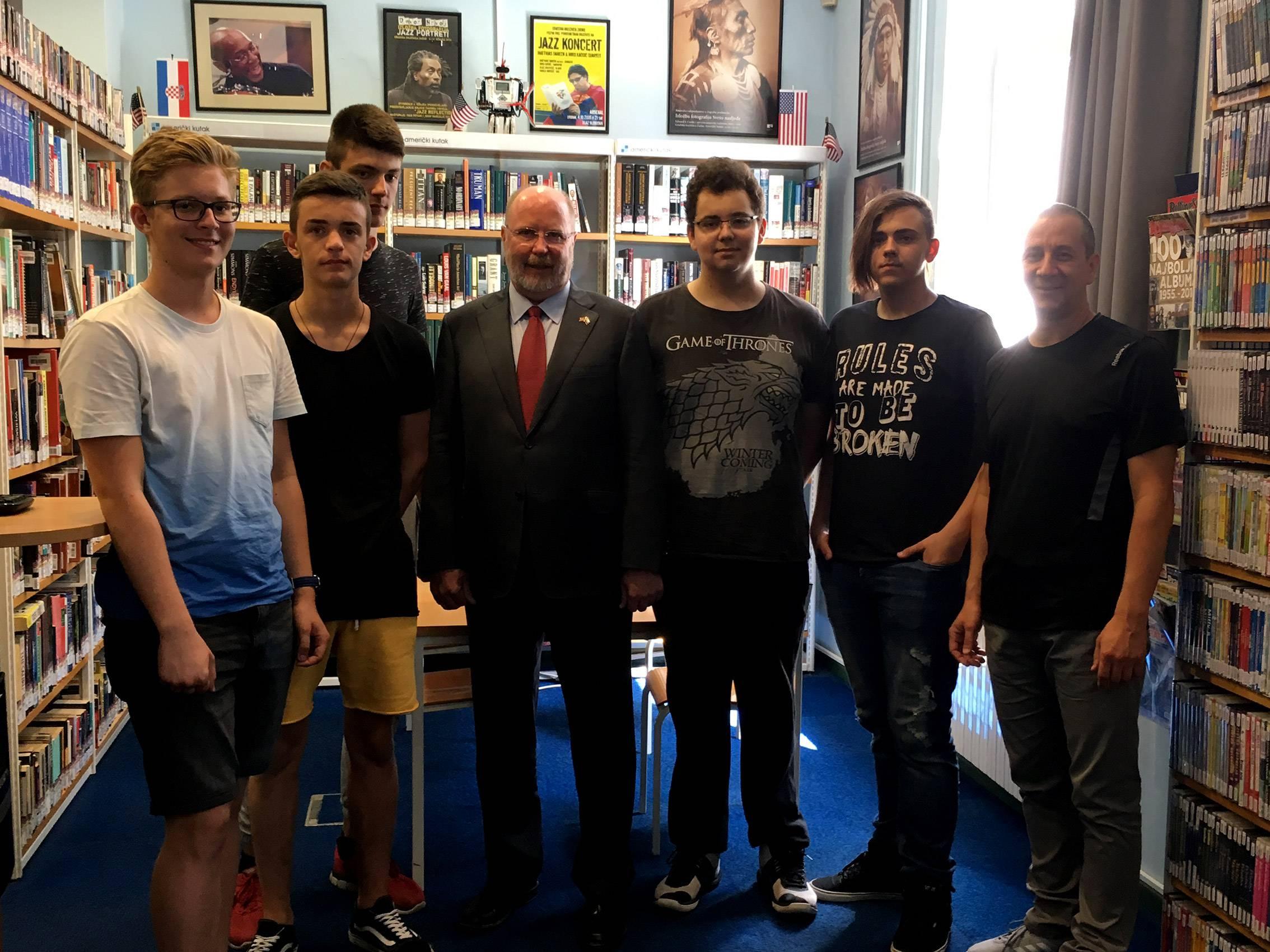 Posjet američkog veleposlanika